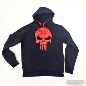 Marvel Punisher Hoodie Mens Small youth Large
